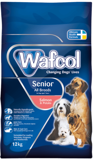 Wafcol Senior Salmon & Potato Suitable For All Breeds