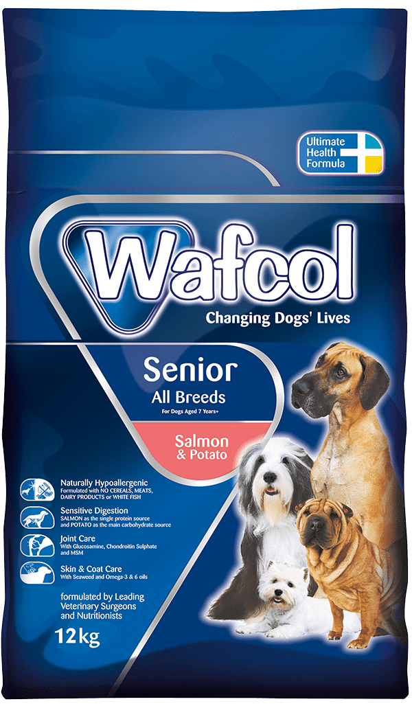 Wafcol Senior Salmon Potato Suitable For All Breeds