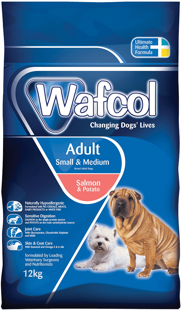 Wafcol Adult Salmon Potato Smallmedium Breeds